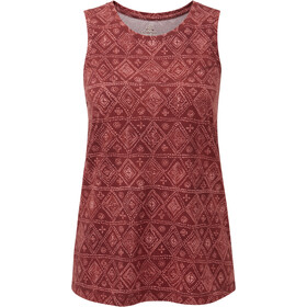Sherpa Kira Tank Women clay red